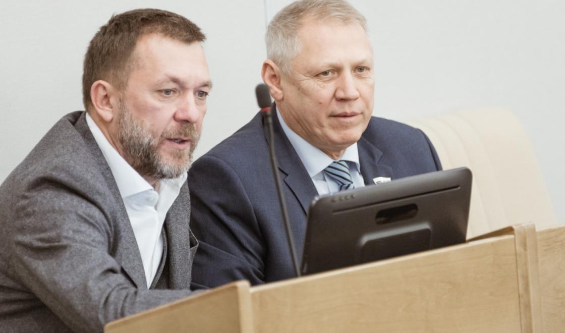 Дмитрий Саблин в Госдуме