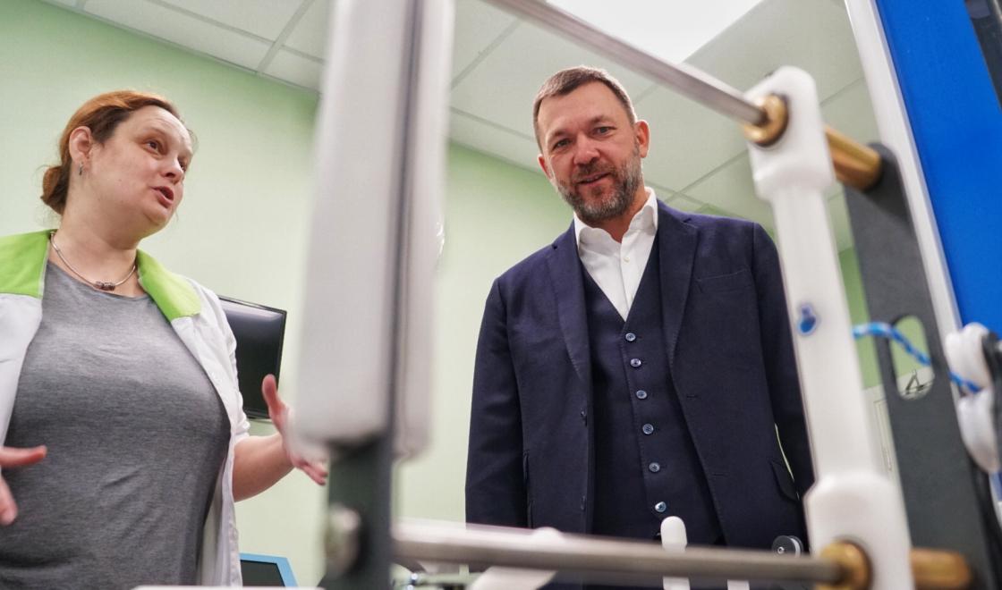 Дмитрий Саблин в Тропарево-Никулино