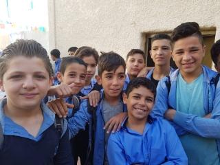 В Сирии восстановлена школа