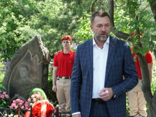 Дмитрий Саблин в поселении Десёновское